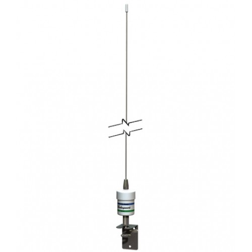Shakespeare 5215-D Squatty Body Stainless Steel VHF Whip Antenna