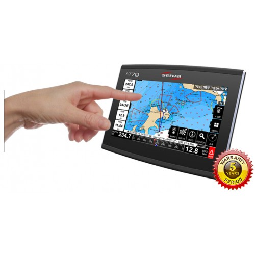 Seiwa FT70 Multi Touch Screen Chartplotter - P3MJ400WSE