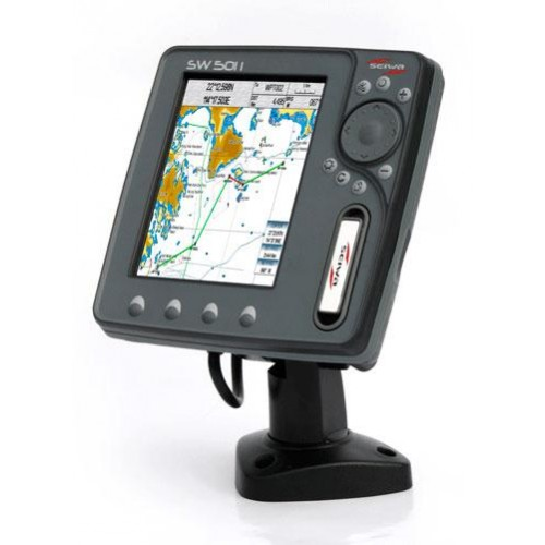 "Seiwa SW501i 5"" Multifunction Chartplotter with integrated GPS Antenna - P2MHT20ASE"