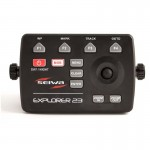 Seiwa Explorer 23 Chartplotter, Multifunction Controller and RC45 Remote Control - P3MC100XSE
