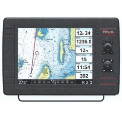 "Seiwa SWx 1200cw 12"" Chartplotter with built-in Fishfinder - P3CN100WSE"