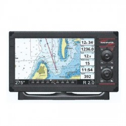 "Seiwa SWx 900cw 9"" Chartplotter with built-in  Fishfinder - P3CR200WSE"