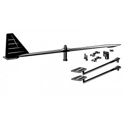 Shakespeare Hawk Masthead Wind Indicator Kit - YHI