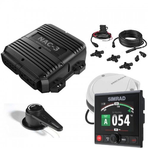 Simrad AP44 HIgh Power NAC-3 Autopilot System Pack with RF300