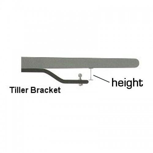 Simrad Tiller Pilot Tiller Bracket 90mm - TB90