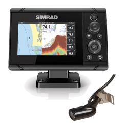 """Simrad Cruise 5"""" Chartplotter Echosounder with Transom Transducer - 000-14998-001"""