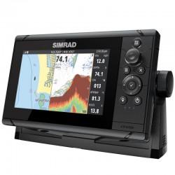 """Simrad Cruise 7"""" Chartplotter Echosounder with Transom Transducer - 000-14999-001"""