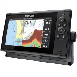 """Simrad Cruise 9"""" Chartplotter Echosounder with Transom Transducer - 000-15000-001"""