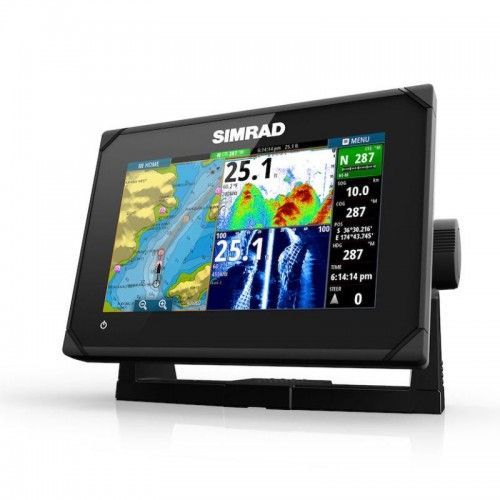 """Simrad GO7 XSE 7"""" Chartplotter Display with Totalscan - 000-12673-003"""
