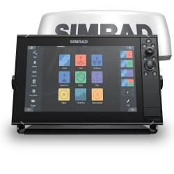 "Simrad NSS12 evo3S 12"" Multifunction Display with Halo20+ Radar - 000-15557-001"