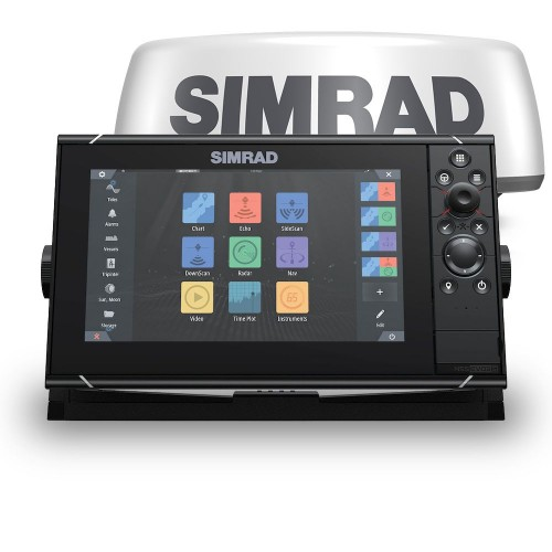 "Simrad NSS9 evo3S 9"" Multifunction Display with Halo20+ Radar - 000-15556-001"
