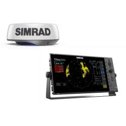 "Simrad R3016 16"" Widescreen Radar Control Unit with HALO24 Radar - 000-15440-001"