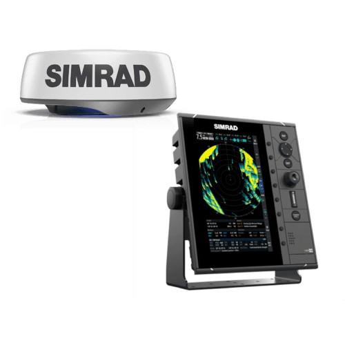 """Simrad R2009 9"""" Radar Control Unit with HALO24 Radar - 000-15439-001"""
