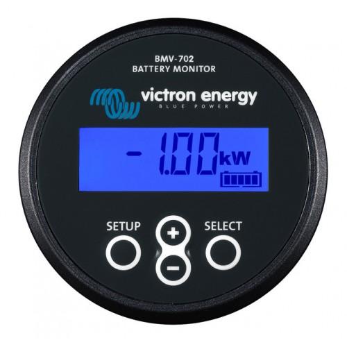 Victron Energy BMV-702 9-90VDC Precision Battery Monitor - Black - BAM010702200