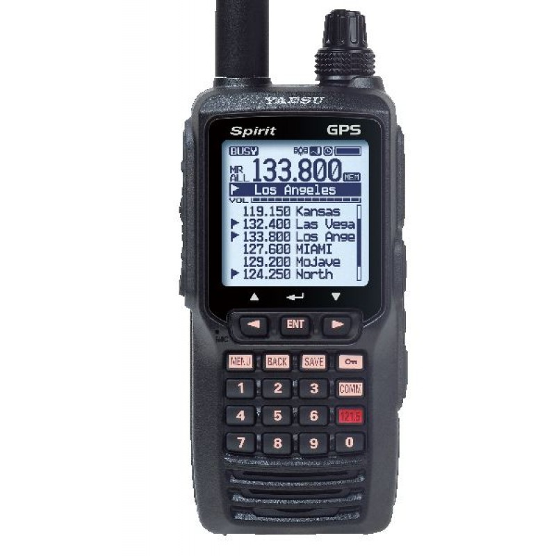 e18a2105c7a Yaesu FTA-750L Spirit Handheld VHF Aviation Transceiver