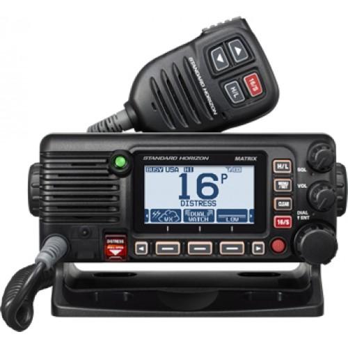 Standard Horizon GX2400E VHF Fixed Marine Class D DSC Transceiver with built-in AIS Receiver, GPS