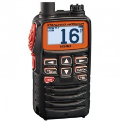 Standard Horizon HX40E Compact Floating Handheld VHF with FM Radio