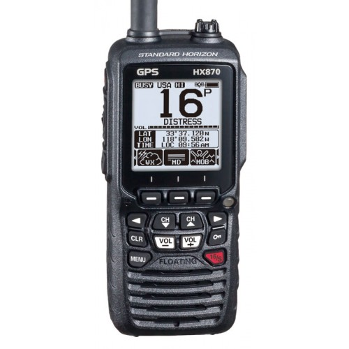 Standard Horizon HX870E Handheld DSC VHF with Built-in GPS
