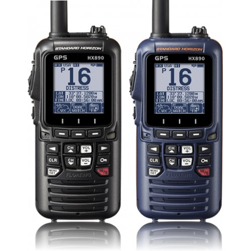 Standard Horizon HX890E Handheld DSC VHF with GPS