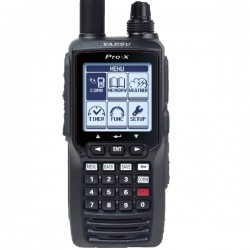 Yaesu FTA-550L Handheld VHF Aviation Transceiver