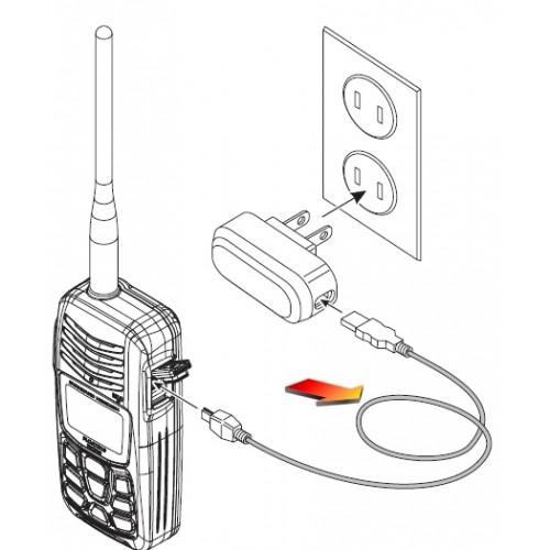 Standard Horizon T9101606 Handheld VHF Charging Cable - HX300E