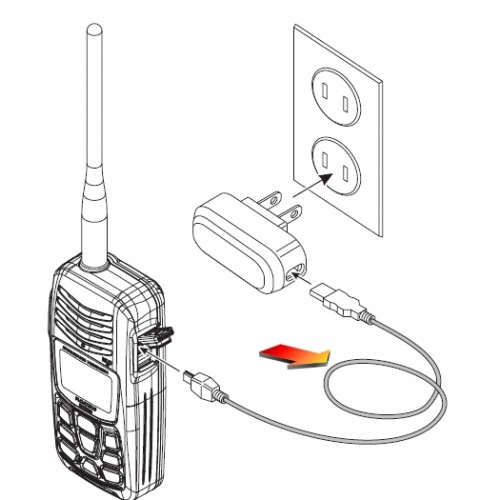 Standard Horizon T9101606 Handheld VHF Charging Cable