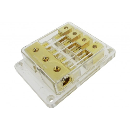 Sterling Power GAUE Gold Plated Fuse Block - GFB3448