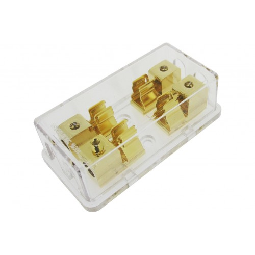 Sterling Power GAUE Gold Plated Fuse Block - GFB2828