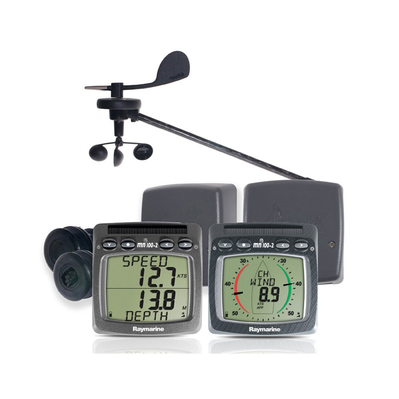 Raymarine Tacktick Wireless Wind, Speed, Depth and NMEA System - T104