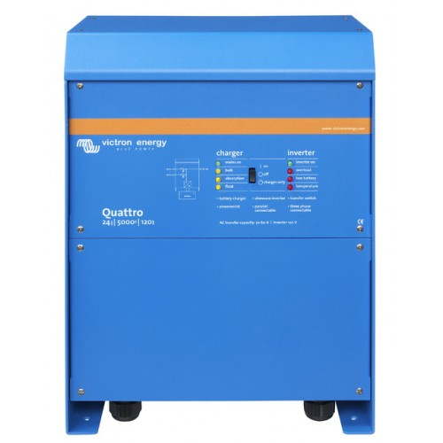 Victron Quattro Inverter Charger 24v 5000w/120-100/100 - QUA245021011