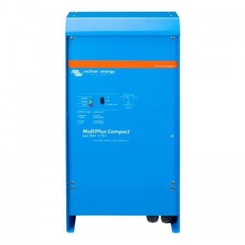 Victron Energy Phoenix Multiplus Compact 24v 800va Inverter with 16Amp Charger - CMP248010000