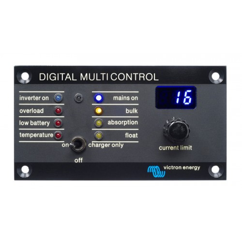 Victron Energy Digital Multi Control Remote Panel - REC020005010