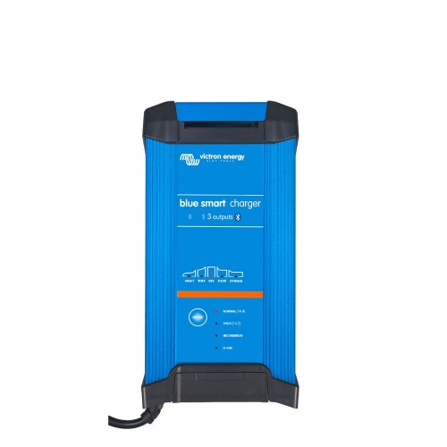 Victron Energy Blue Power Smart Charger 12v 30A Charger - IP22 - 3 Outputs - UK Plug - BPC123044022