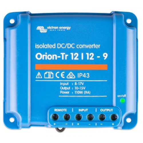 Victron Orion-Tr DC/DC Converter - Isolated - 12/12-9 (110w) - ORI121210110