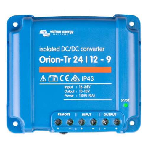 Victron Orion-Tr DC/DC Converter - Isolated - 24/12-9 (110w) - ORI241210110