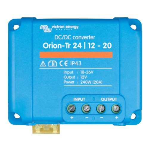 Victron Orion-Tr DC/DC Converter - Non Isolated - 24/12-20 (240w) - ORI241220200