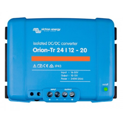 Victron Orion-Tr DC/DC Converter - Isolated - 24/12-20 (240w) - ORI241224110