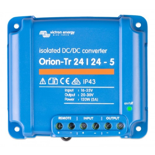 Victron Orion-Tr DC/DC Converter - Isolated - 24/24-5 (120w) - ORI242410110
