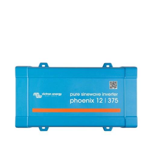 Victron Energy Phoenix Inverter 12v 375va UK Outlet - PIN123750400