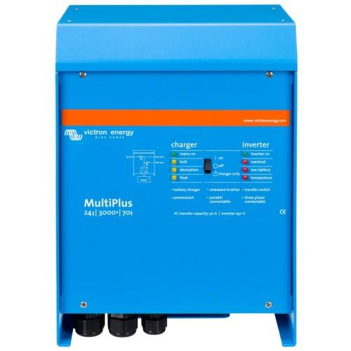 Victron MultiPlus Inverter Charger 24v 3000w/70-50 - PMP243021011