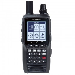 Yaesu FTA-450L Handheld VHF Aviation Transceiver